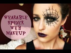 Dramatic Spider Web Makeup Tutorial - YouTube