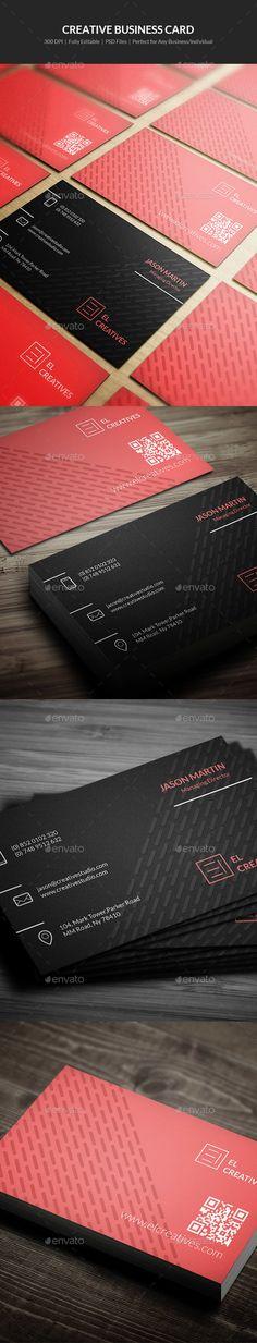 Creative Business Card Template PSD #visitcard #design Download: http://graphicriver.net/item/creative-business-card-13/13482297?ref=ksioks