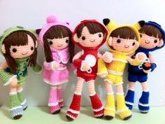 jovencitas disfrazadas amigurumis pagina japonesa