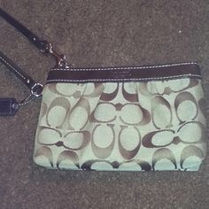 Coach wristlet I have this one