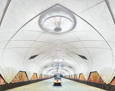 """Station """"Flughafen"""", Moskau, Russland"""