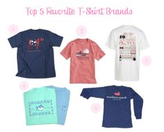 The Pink and Green Prep: Top 5 Favorite T-Shirt Brands... if only a sweet boyfriend of mine would give me his southern tide shirt #ef