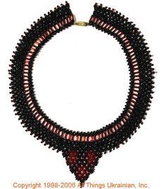 Ukrainian Gherdany Beadwork  # 06-6003 handmade in Ukraine. Originally sold on http://www.allthingsukrainian.com/Jewelry/index.htm