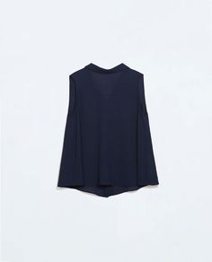 Image 6 of TOP WITH JEWEL BUTTONS AT THE BACK from Zara
