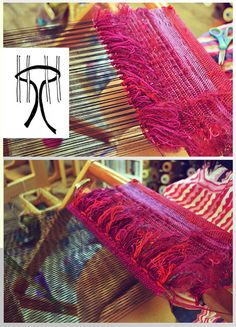 Loom Weaving Tutorial: Weave Exotic Fabrics with Rya Knots