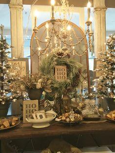 Christmas display The White Rabbit