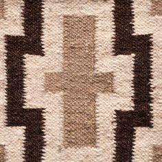 Brown Flax rug