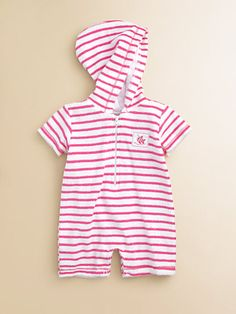 Kissy Kissy Baby-Boys Infant Summer Sails Terrycloth Sleeveless Stripe Short Playsuit