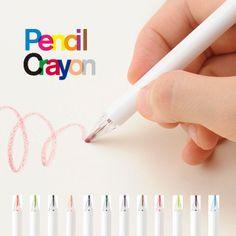 Pencil Crayon [ペンシルクレヨン]  AOZORA|KONCENT [コンセント] オフィシャル SHOP