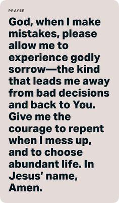 Prayer Scriptures, God Prayer, Prayer Quotes, Bible Verses Quotes, Faith Quotes, Word Of God, God Is, Bible Encouragement, Inspirational Prayers