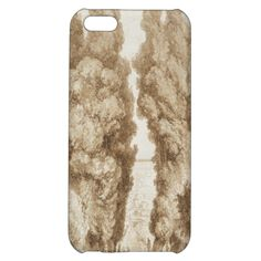 #cypress #avenue at villa d'este #tivoli by #fragonard #art #case #iphone 5c #iphone5c #iphone5
