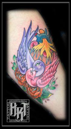Andrew R Trull/ custom tattoo artist Neo Traditional, Custom Tattoo, I Tattoo, Tattoo Artists, Fashion Art, Watercolor Tattoo, Ink, Design, Retro