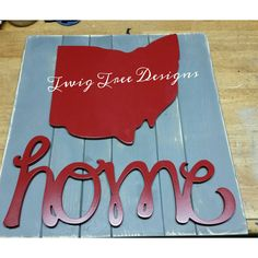Love this Ohio home sign !!