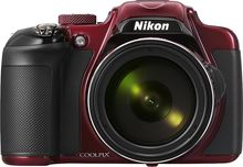 Nikon - Coolpix P600 16.1-Megapixel Digital Camera - Red (018208264636) Capture the moments that matter with this Nikon Coolpix P600 16.1-megapixel digital camera, which features a NIKKOR lens that lets you shoot clear photos and videos. The cold-resistant design enables use in challenging conditions.  Memory card sold separately.