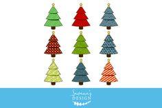 New #Christmas #Tree #Clipart! https://creativemarket.com/SavanasDesign/1056451-Christmas-Tree-Clipart #christmastree #digital #download #creativemarket #design #art #digitalart