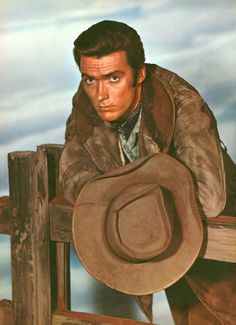 Clint Eastwood as 'Rody Yates' in Rawhide (1959-66, CBS) For more western inspiration. Check out www.broncobills.co.uk