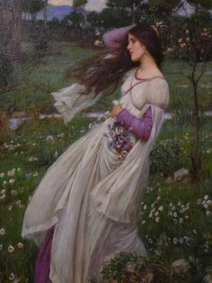 Windflowers by JW Waterhouse