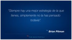 Frase sobre la importancia que tiene la estrategia dentro del Marketing.