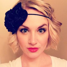 Customizable Blooming Gatsby 20s Inspired large flower headband by AliceInBloom on Etsy, $25.00