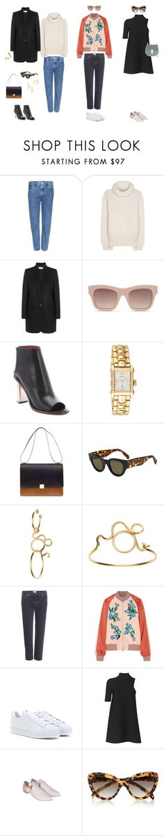 """#15"" by jennybecker on Polyvore featuring Acne Studios, STELLA McCARTNEY, CÉLINE, Charriol, de Grisogono, Jonathan Saunders, adidas Originals, By Malene Birger, Prada and Chloé"