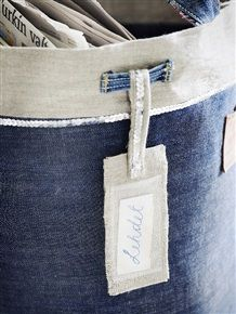 Sew the denim Journal of the body  Like the belt loop stitched on