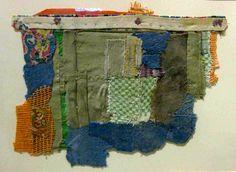 A grandmother's shredded fabrics are repurposed by Romanian artist Geta Bratescu