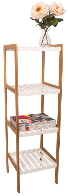 Bamboo 4 Tier Shelf