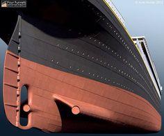 Rms Titanic, Titanic Model, Titanic Photos, Titanic Ship, Southampton, Narrowboat, Three Sisters, Model Ships, Model Building