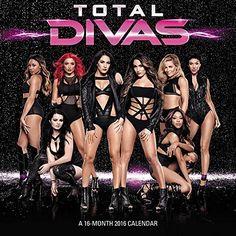 WWE Total Divas 2016 Wall Calendar by ACCO Brands