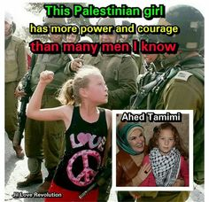 The Lion Of Palestine. Ahed Tamimi.