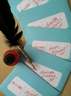 Calligraphy & Hand Lettering by Jill De Haan, via Behance