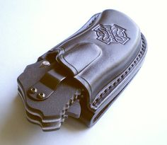 Custom Leather Sheath for Zero Tolerance 0350 by GoldenStoneBazaar