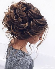 Elstile Long Wedding Hairstyles and Updos #WeddingHairstyles #WomenHairstyles