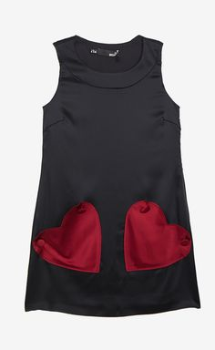 Love Moschino Red And Black Dress