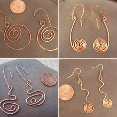 Do you like copper as much as I do? :)   #fortheloveofcopper #copperearrings #SandmanMetals #copper #copperjewelry #copperwire #wirewrapped #thenarcolepticjeweler #wireearrings #ilovecopper #copperlove #copperjewellery #etsyshop #etsy #etsyseller