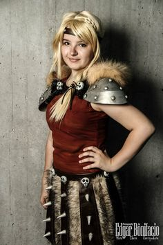 How to Train Your Dragon 2 cosplay Astrid by astrid4713