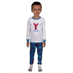 Lobster Pinch Me I'm Dreaming Juvy Pajama Set