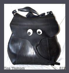 My rubber elephantastic bag