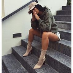 2016 Autumn Winter Women Casual Solid Hoodies Unisex Lapel Hooded New Sweatshirts Pullovers Turn-down Collar - 2019 Mode Outfits, Fall Outfits, Casual Outfits, Fashion Outfits, Fashion Hats, Fashion Accessories, Fashion Mode, Fashion Killa, Womens Fashion