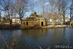 "Mysterious Stone House at Takanassee Lake, Long Branch. You can also find a YouTube video ""NJ Outdoors"" page."