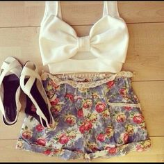Top and shorts ~loveee~