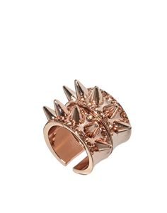 ASOS Two Pack Spike Rings....Rosegold