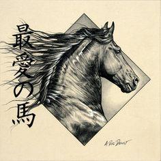 pinterest friesan horses | Friesian Horse Tattoos