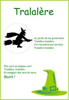 tralalere Halloween Poems, Theme Halloween, Halloween 2019, Halloween Crafts, Happy Halloween, Halloween Costumes, French Poems, Bricolage Halloween, French Class