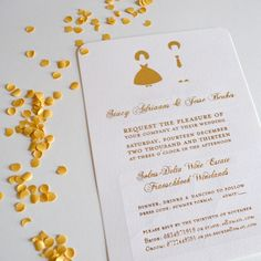 Stacy and Jesse Wedding invitation we designed for this fun young couple. #Schwarzie