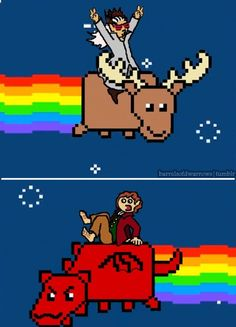 Nyan Hobbit --- what even is this<--seriously, what even?