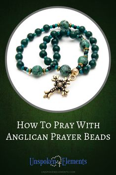 Anglican prayer beads are rich with Christian symbolism, in this guide you will learn the meaning of the beads along with instructions on how to pray with the Anglican rosary including a few sample prayers to get you started. Rosary Prayer, Praying The Rosary, Prayer Beads, Miracle Prayer, Healing Prayer, Our Father Prayer, Christian Prayers, Christian Sayings, Prayer Ministry