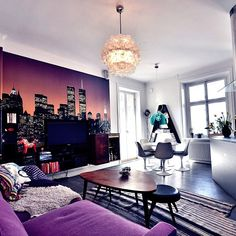 #Purple day in your #livingroom