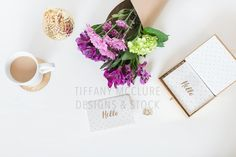 Purple Flower Deskto