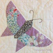 Art deco butterfly